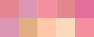Färgschema_varmrosa