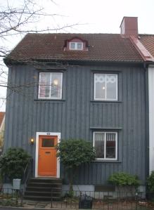 Grått hus