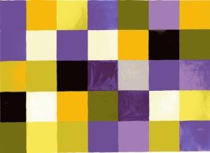 Färgschema med violett