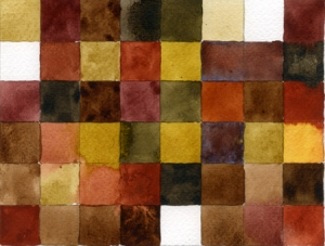 brunt, akvarell023