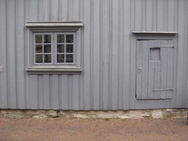 Grått hus på Kragerö