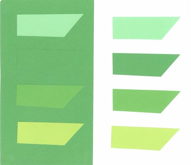 Grönt på grönt