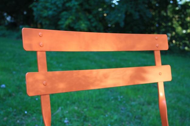 Orange stol