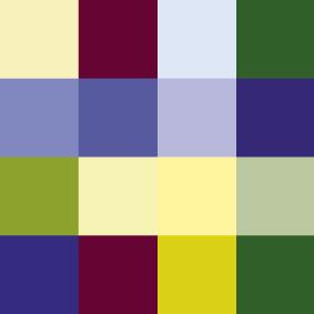 Färgschema I , transparens