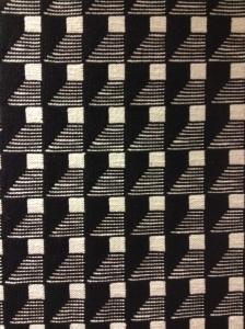 väv i svartvitt