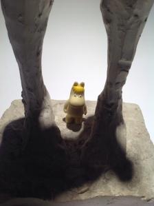 Snorkfröken i skulptur