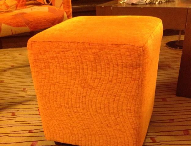 Orange puff