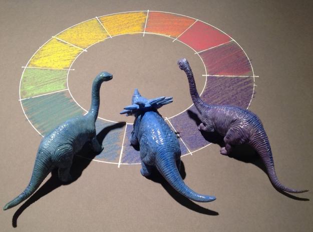 Kulörklubben_dinosar