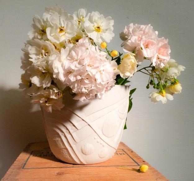 Nästan vita blommor