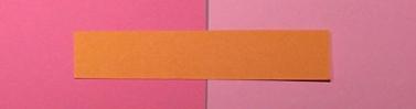 Orange passar inte till rosa