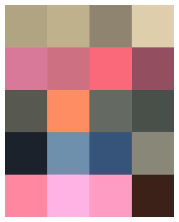 Färgschema Stefan