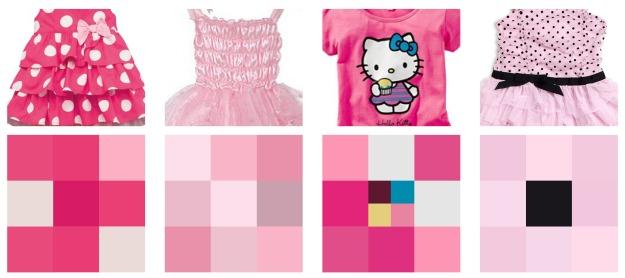 färgschema klänningar