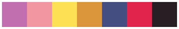 Filmafisch färgschema