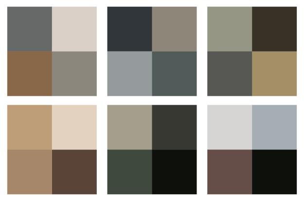 Shirin color scheme