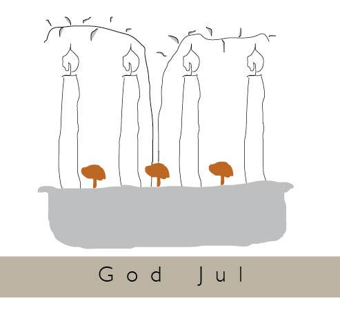 JUlkort 4B- advent