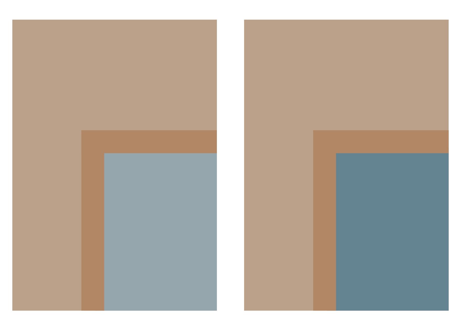 Blåbrun dörrförslag