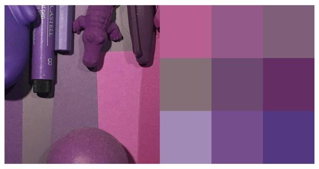 lila färgschemax